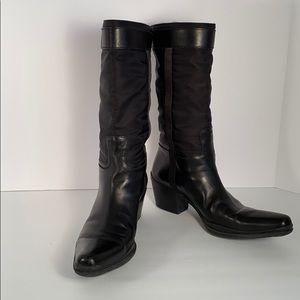 Vintage Prada Heeled Cowboy Boot